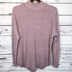 American Eagle outfitters mock neck sweater